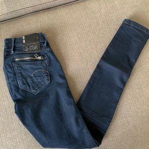 G Star Raw Fender Skinny Jeans Size 27/32